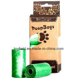 Hundehaustierpoop-Beutel der Maisstärke-biodegradierbarer kompostierbarer PVA löslicher