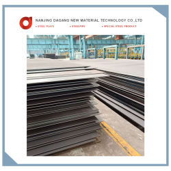 Ah36 Plaque d'acier résistant à la corrosion pour le fret de transporteur de pétrole brut du réservoir d'huile