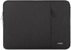 13-13.3インチと、ノートパソコン互換性がある、ラップトップの袖袋水防水加工剤ポリエステルポケットが付いている縦の保護箱カバー