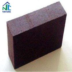O material refratário calcinada tijolos de carbono para a panela de aço, tijolos utilizados na fábrica de aço cromado de tijolos de magnésia forno industrial, Isolamento de tijolo de Incêndio