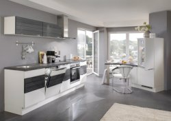 Tirador de los dedos de muebles de cocina moderna (ACS-117)