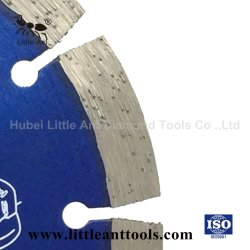 190mm 건식 다이아몬드 톱 블레이드 파워 툴 핫 프레스 커팅 디스크(파란색)
