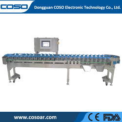 上の販売のマルチ段階の視野機能ソート機械自動化された重量の等級分け機械