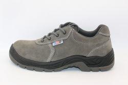 강철 Toe-Cap 안전 단화 안전 신발 Ax05043를 가진 스웨드 가죽