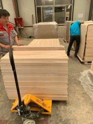 Placa de madeira Paulownia natural de mobiliário interior