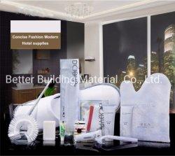 Preiswerte Hotel-Annehmlichkeits-Qualitäts-Badezimmer-Installationssatz-Wegwerftoilettenartikel-Zubehör für Gast