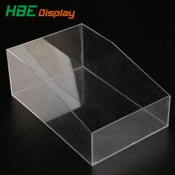 부티크 투명 아크릴 소형 외관 테이블 상판 디스플레이 상자