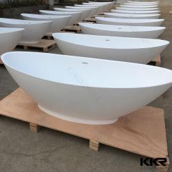 Pierre artificielle Surface solide Corian baignoire autostable