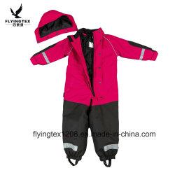 De Kleding van de Winter van de Bovenkleding van de Jonge geitjes van het Overtrek van de waterdichte Kinderen van de Slijtage van Sporten