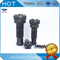 採掘には、 Product Diamond Enhanced DTH Hammer Diamond Button Drill Bit Rock Drilling ビットを使用します