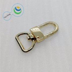 ID16mm métal mode demi-cercle d'or Fermoir crochet de Sac de chien en laisse