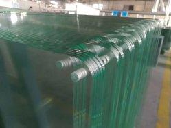 vetro temperato di 1.8-19mm/vetro di vetro Tempered/costruzione/vetro di vetro strumento/del ripiano del tavolo