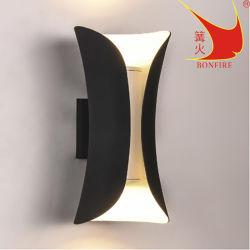 Nouveau design en aluminium LED/GU10 IP54 éclairage mural extérieur
