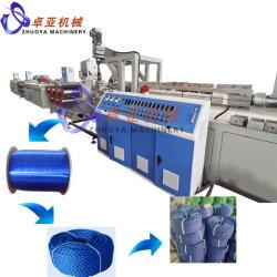Pet reciclado en filamentos de poliéster hilado de la cuerda y de la cuerda de la máquina la Máquina de torsión
