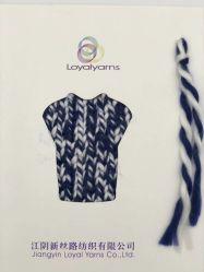 100% acrílico tejido de punto fantasía Hermosa bufanda de hilo para la venta directa de China Proveedor Ly-A307