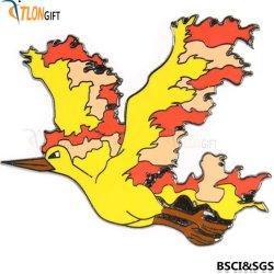 Мода Gold Bird Custom металлический логотип для рекламных подарков Булавка