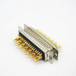 D-sub 24 broches de connecteurs VGA à souder des composants électroniques
