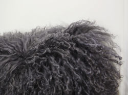 Luxury Woolen Cushions Real Fur Pillows (YFC03411)