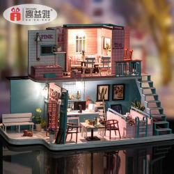 2019 Nouvelle conception de meubles en bois miniature Maison de poupée/Poupée en bois / la Boîte à musique/Kids mobilier pour enfants