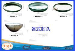 Tête ovale en acier au carbone standard pour les extincteurs