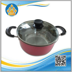 Ustensiles de cuisine en acier inoxydable de gros de la Soupe pot pot de la cuisine de cuisine