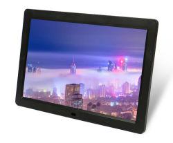 Commerce de gros 1280*800 Résolution 12 pouces Cadre photo numérique avec capteur de mouvement