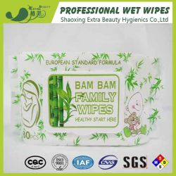 Ce nettoyage biodégradable certifié Premium gros lingettes humides serviette en papier tissu distributeur