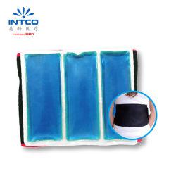 ウエストのための覆いが付いている再使用可能で熱く冷たいゲルのパック