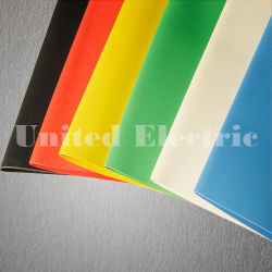 Formato: 3/4 di pollice, diametro interno come fornito: 19.0 millimetri, diametro interno dopo completamente recuperato: 9.5 millimetri, tubazione ignifuga flessibile della parete sottile bianca