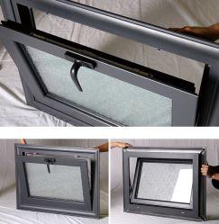 O alumínio Single/Double pendurado na janela de vidro fosco para casa de banho ou na cozinha Zf -Aw-002