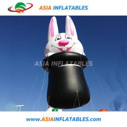 Aerostato gonfiabile dell'elio del giocattolo dell'aerostato del coniglio del fumetto per i capretti