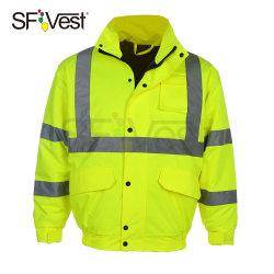 고가시성 작업복 반사 안전 재킷 및 EN ISO