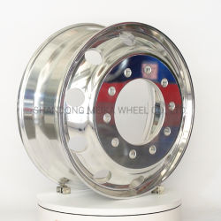 22.5X9.0cerchio o cerchi in lega forgiata lucidata per autocarri per impieghi gravosi
