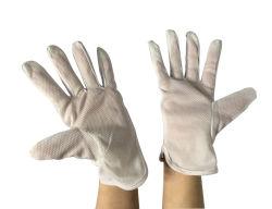 Bande antistatique ESD gants pour salle blanche en pointillé en PVC