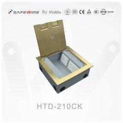 Het Opzetten van het Type van Dekking IEC60884 Stardard de ZijContactdoos van de Vloer/de Contactdoos van de Stop