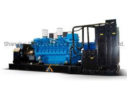 Aplicações populares de diesel do gerador de energia com 2000 Kw Motor Mtu