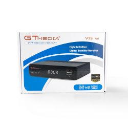 USB WiFi DVB-S2가 탑재된 새로운 GTmedia V7s Freesat V7 HD HD 위성 TV 수신기 지원 Powervu BISS 키 Cccamd Newcamd