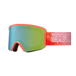 Широкоугольный объектив для ПК Besting-Selling горнолыжные очки TPU рамы снега очки сноуборд очки