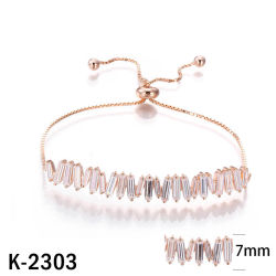 925 Silver Mode bijoux femmes Diamond Bracelet