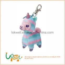 Unicorn Pony Brinquedos recheadas de pelúcia Chaveiro Peluches