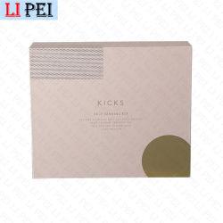 L'impression de marque de luxe personnalisées Personal Skin Care Package cosmétiques Crème visage papier métallique Emballage avec l'argent l'estampage