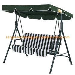 Palm- Springgarten 3 Seater Hängematte gepolsterter Schwingen-Stuhl-im Freienprüftisch-Sitz