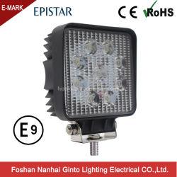 Quadratisches Arbeitslicht des Flut-Punkt-27W 4inch LED für ATV SUV nicht für den Straßenverkehr Auto 4X4 (GT1007-27W)