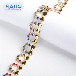 복장을%s Hans 제조자 OEM 형식 모조 다이아몬드 공상 벨트 모조 다이아몬드 벨트