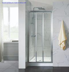 Perfil de aluminio enmarcado manejar conectado Slider Receptáculo de ducha