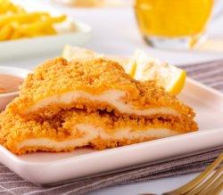 Il pollo cucinato ha certificato il taglio Salted affettato croccante del pollo