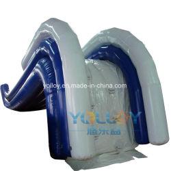 Надувной горкой для операций с плавающей запятой для водного парка с плавающей запятой