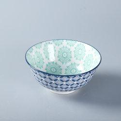 Porcellana cena ceramica porcellana colore ciotola per uso domestico