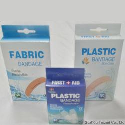Verband van de Kleur van de Hulp van de Band van de Leverancier van China het Medische Douane Afgedrukte Waterdichte Plastic Blauwe Opspoorbare