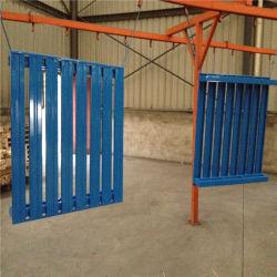 Vierwegs Gabelstapler-Stahlladeplatte für Lager-Speicher betreten